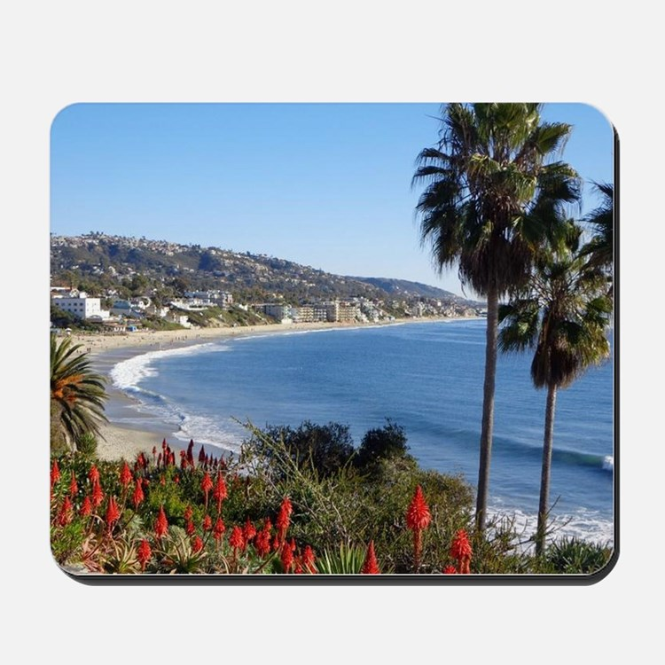 Laguna beach,california Mousepad