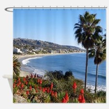 Laguna beach,california Shower Curtain
