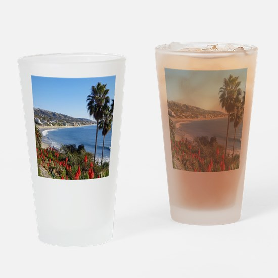 Laguna beach,california Drinking Glass