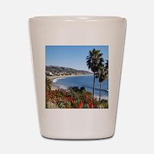 Laguna beach,california Shot Glass
