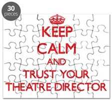 Keep Calm and trust your Theatre Director Puzzle