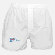 Union Jack Tribal Flame Boxer Shorts