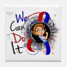 CHD Rosie Cartoon WCDI Tile Coaster