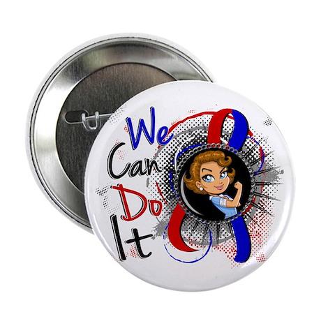 """CHD Rosie Cartoon WCDI 2.25"""" Button (10 pack)"""