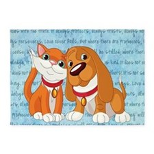 BEST BUDDIES 5'x7'Area Rug