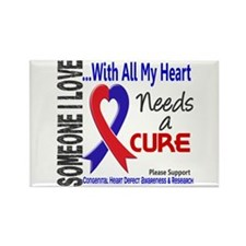 CHD Needs a Cure 3 Rectangle Magnet