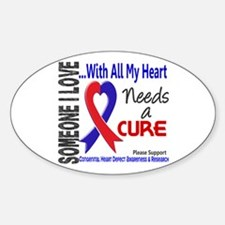 CHD Needs a Cure 3 Decal