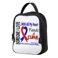 CHD Needs a Cure 3 Neoprene Lunch Bag