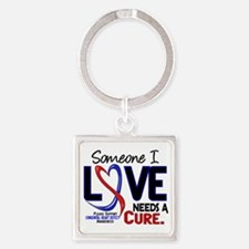 CHD Needs a Cure 2 Square Keychain