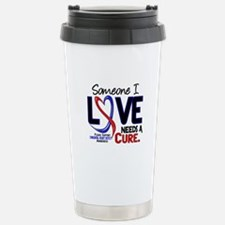 CHD Needs a Cure 2 Stainless Steel Travel Mug