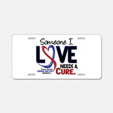 CHD Needs a Cure 2 Aluminum License Plate