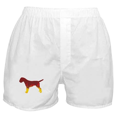 Terrier Flames Boxer Shorts