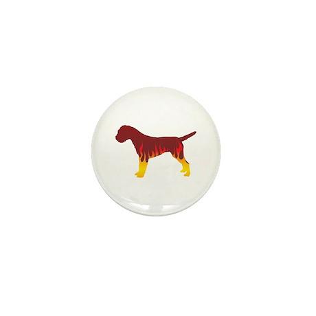Terrier Flames Mini Button (100 pack)