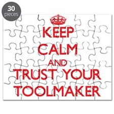 Keep Calm and trust your Toolmaker Puzzle