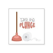 Take the PLUNGE Sticker