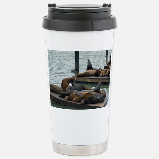 san francisco seals Stainless Steel Travel Mug