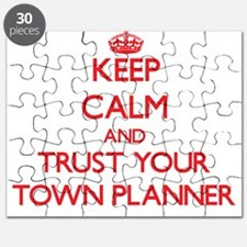 Keep Calm and trust your Town Planner Puzzle