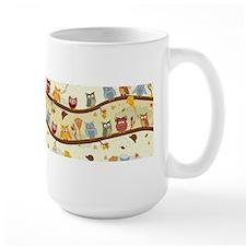 Autumn Owls Mugs