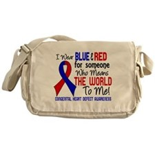 CHD Means World To Me 2 Messenger Bag