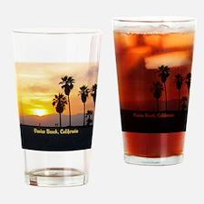 Personalized Venice Beach Californi Drinking Glass