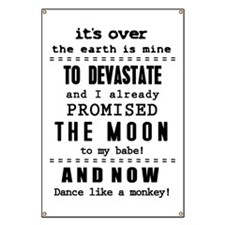 It´s over the earth is mine - bananaharvest Banner