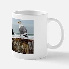 seagull oceanscape Mug