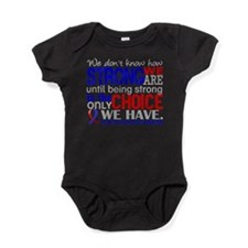 CHD How Strong We Are Baby Bodysuit