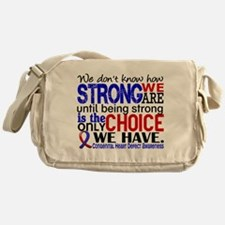 CHD How Strong We Are Messenger Bag