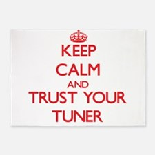 Keep Calm and trust your Tuner 5'x7'Area Rug