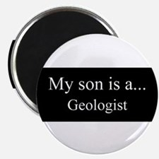Son - Geologist Magnets