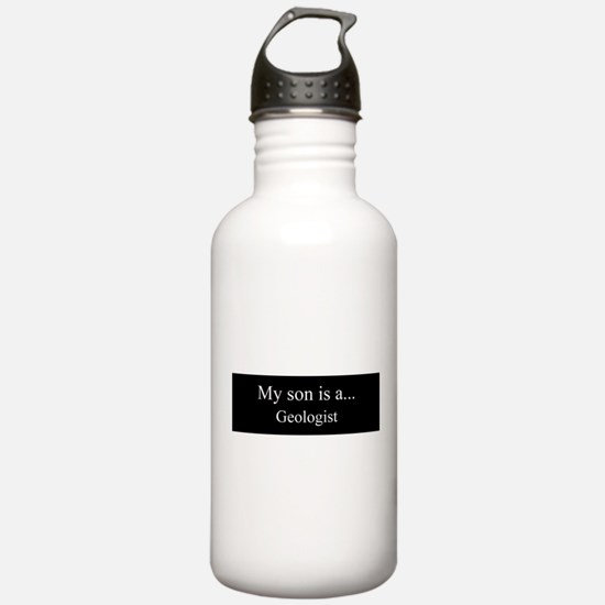Son - Geologist Water Bottle