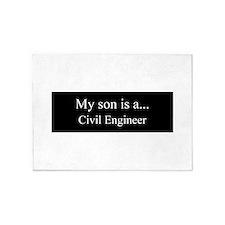 Son - Civil Engineer 5'x7'Area Rug