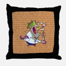 DR. JEKYLL Throw Pillow