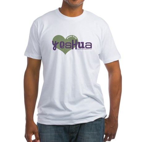 """""""Pure for Yeshua"""" Fitted T-Shirt"""