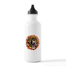 Tiger Fire Sports Water Bottle