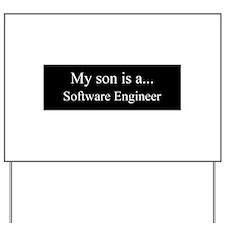 Son - Software Engineer Yard Sign