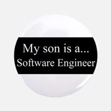 "Son - Software Engineer 3.5"" Button (100 pack)"