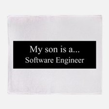 Son - Software Engineer Throw Blanket
