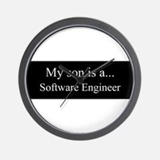 Son - Software Engineer Wall Clock