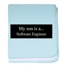 Son - Software Engineer baby blanket