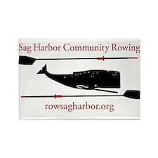 Sag Harbor Community Rowing Logo Magnets