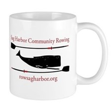 Sag Harbor Community Rowing Logo Mugs