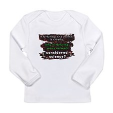 Animal Cruelty Long Sleeve Infant T-Shirt