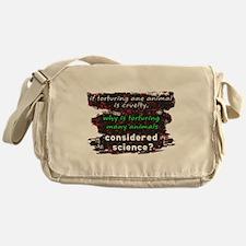 Animal Cruelty Messenger Bag