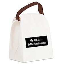 Son - Public Administrator Canvas Lunch Bag