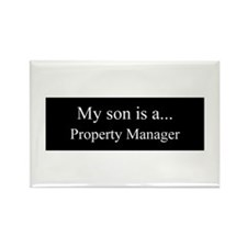 Son - Property Manager Magnets