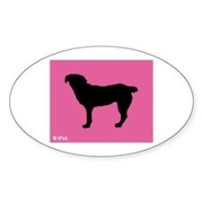 Entlebucher iPet Oval Decal