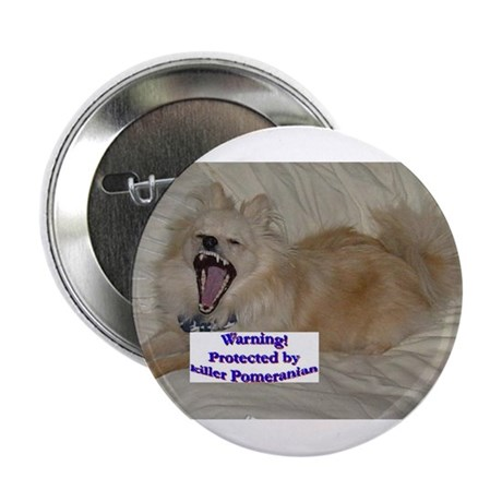 Protected by Killer Pomeranian Button