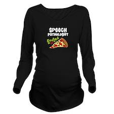 Speech Pathologist Long Sleeve Maternity T-Shirt