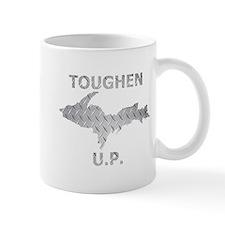 Toughen U.P. In Chrome Diamond Plate Mugs